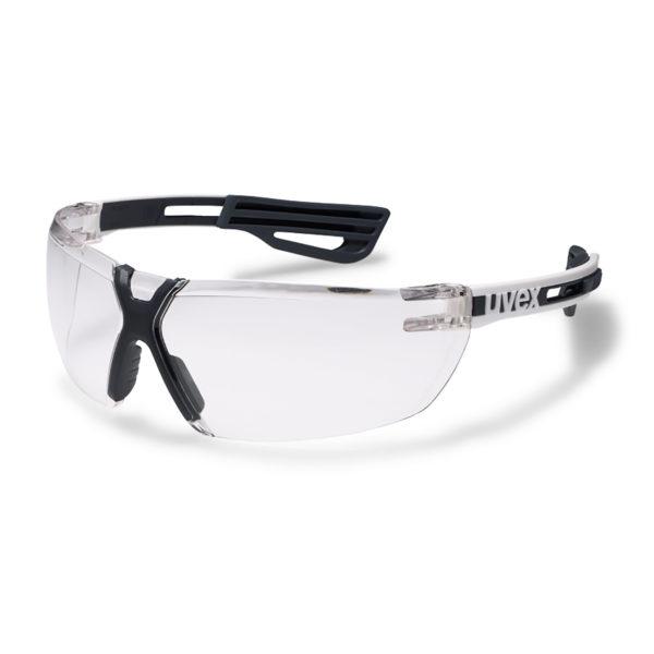 Uvex X-fit Schutzbrille Klar Weißer Bügel 2