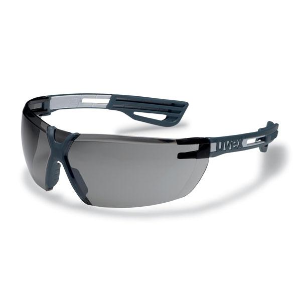Uvex X-fit Pro Schutzbrille anthrazitgrau Getönt