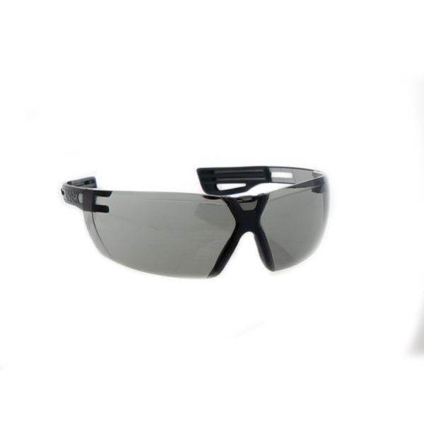 Uvex X-fit Pro Schutzbrille anthrazit grau Getönt 1