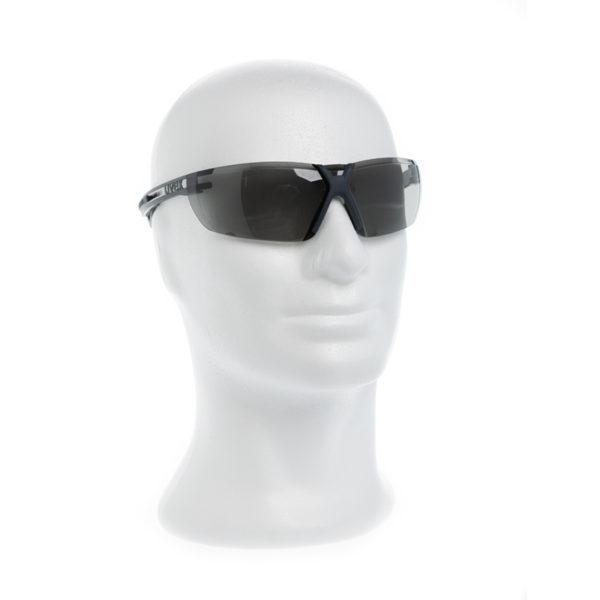 Uvex X-fit Pro Schutzbrille anthrazit grau Getönt top