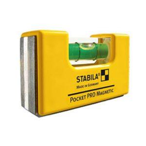Stabia Pocket Pro Wasserwaage mit Magnet